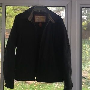 Men's used Abercrombie & Fitch peacoat size large